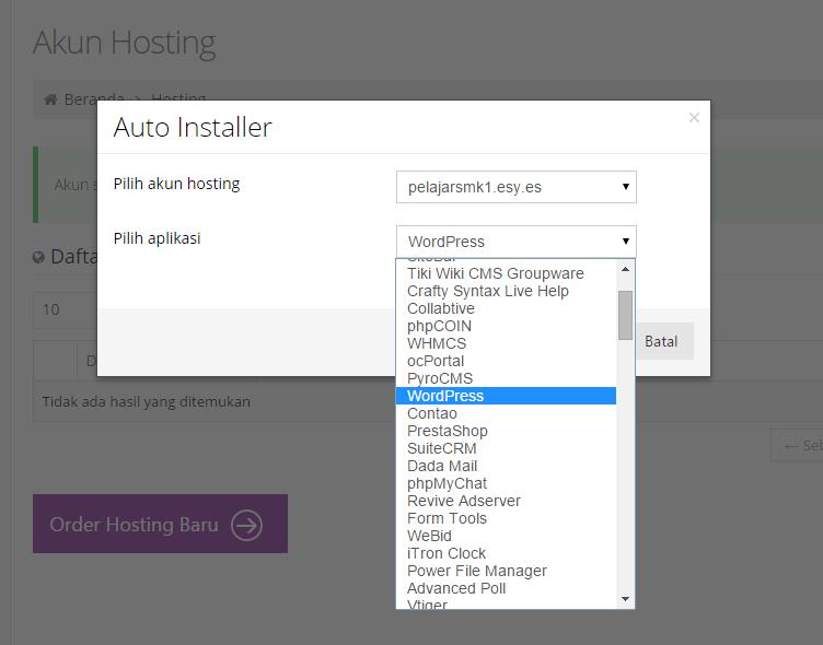 Auto Installer Website
