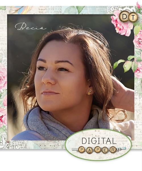 Projektuję dla Digital Paper by Janet