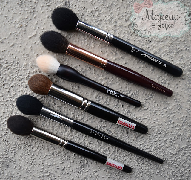 Tapered Highlighter Brushes