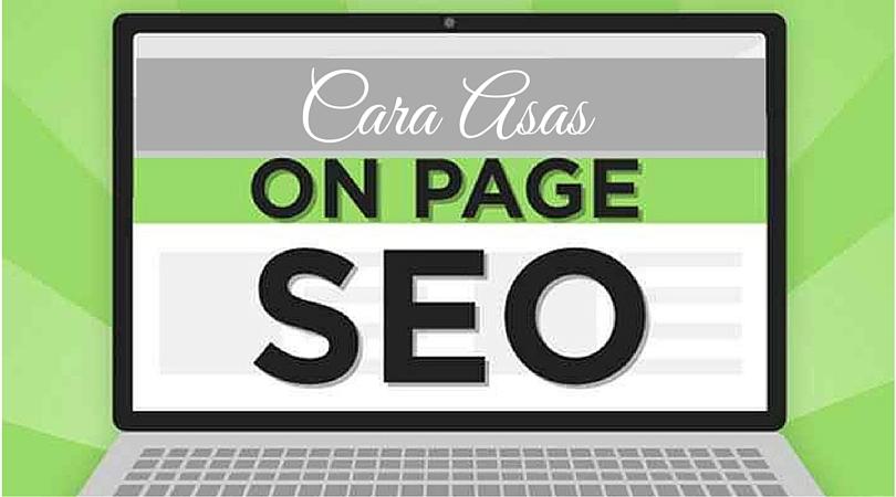 asas On-Page SEO