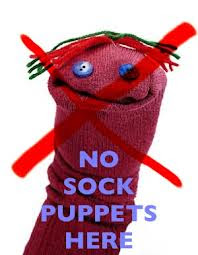 'SOCK PUPPETRY' IS IN DANGER OF RUINING ONLINE BOOK REVIEWING ......