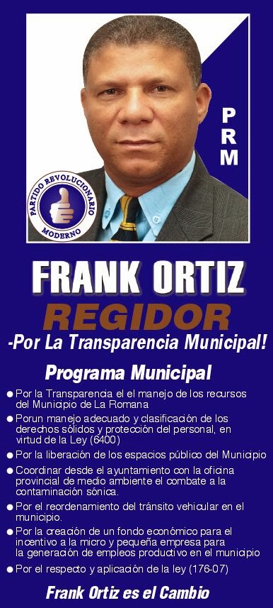 LIC. FRANK ORTIZ UN HOMBRE DE PUEBLO