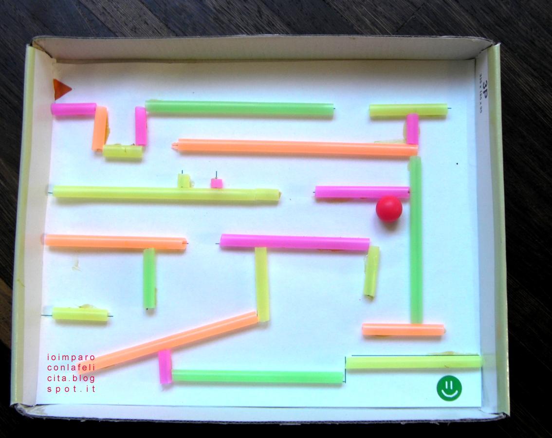 Io imparo con la felicit gioco del labirinto facilitato for Attivatore fosse biologiche fai da te