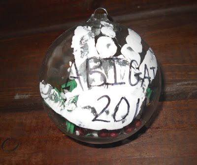 Kids snow globe 1
