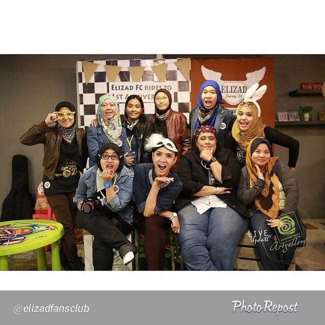 Bersama Elizad FanClub