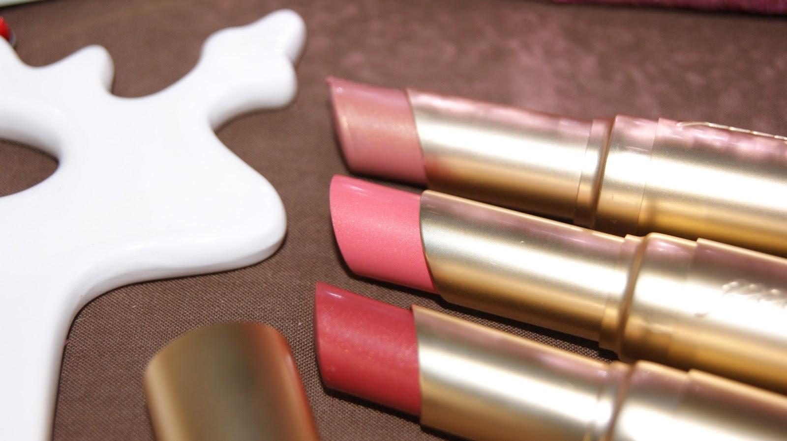 Too Faced Under The Mistetoe Lipsticks