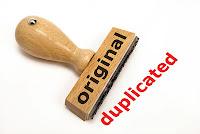duplicated