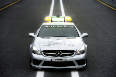 2011 Mercedes Benz C63 AMG DTM Safety Car