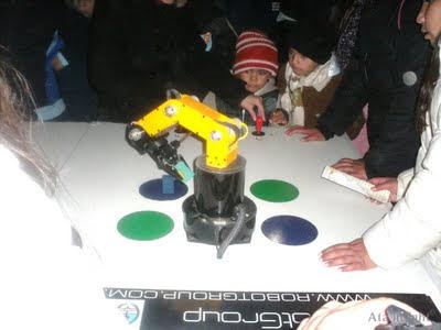 Brazo robótico Tecnópolis