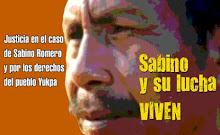 !Justicia en el caso de Sabino Romero! ¡No a la impunidad!
