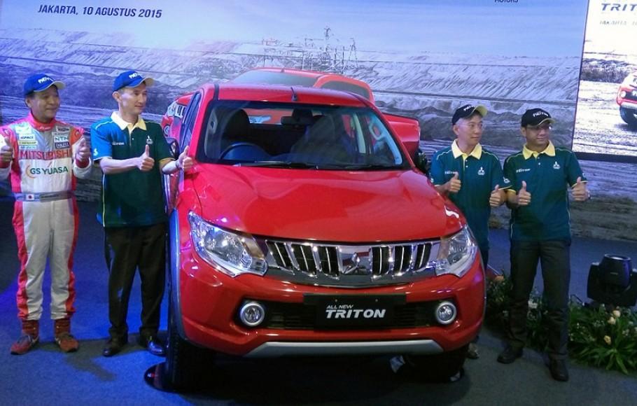 Peluncuran All New Triton Jakarta