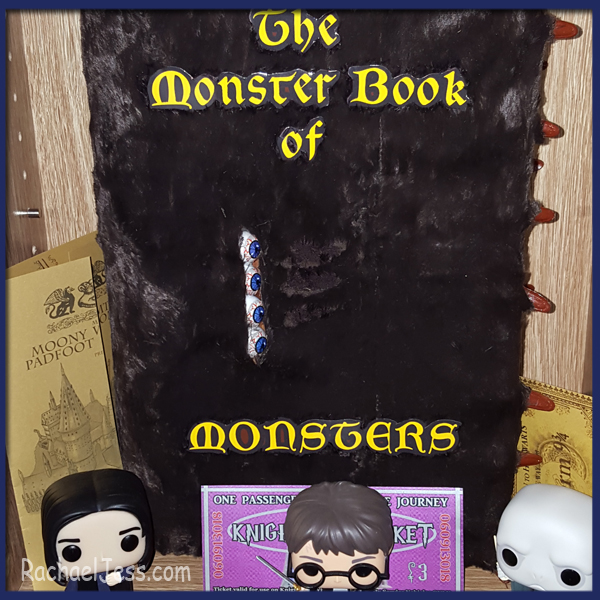 Took some work but I'm very pleased with how I made my Monster Book of monsters