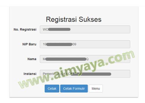 Gambar: Registrasi Sukses