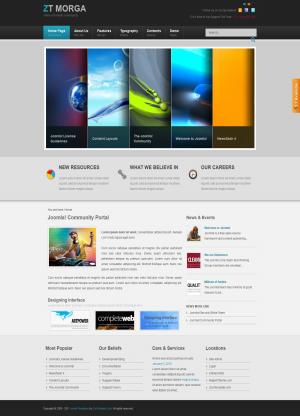 Share template ZT Morga - Joomla 1.5