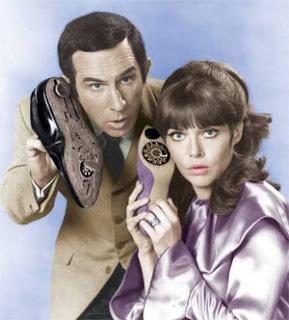 Los zapatos telefono del Super Agente 86