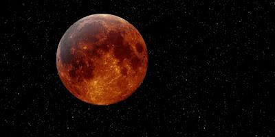 Nigeria experience a Lunar Eclipse