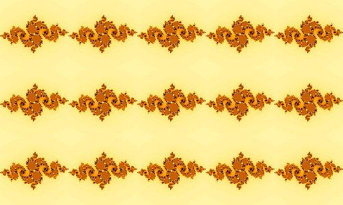 Uniquely adorable pattern