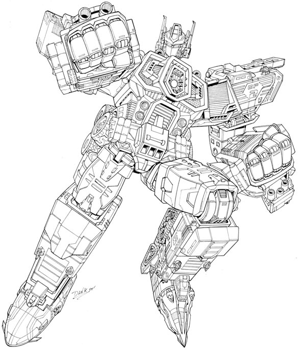 coloring pages optimus prime - photo#29