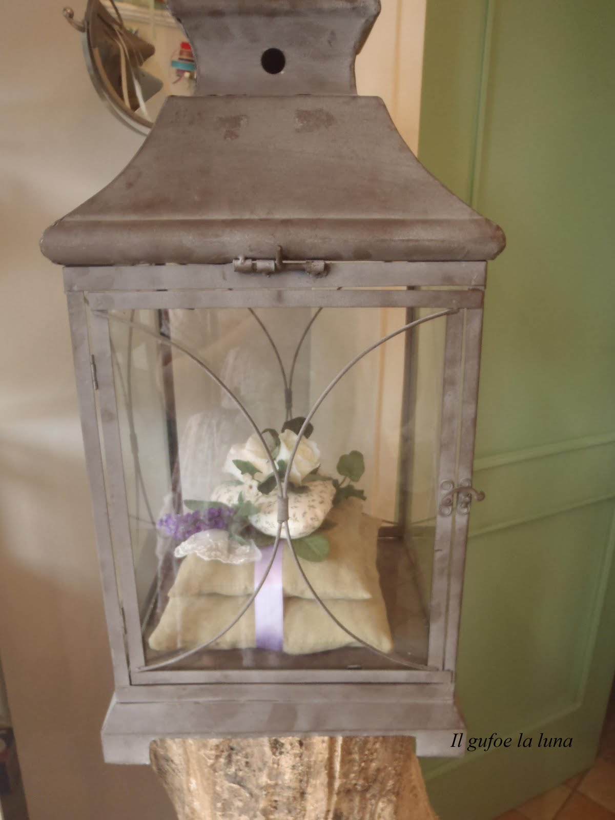 Il gufo e la luna shabby chic country style romantici for Cuscini country chic