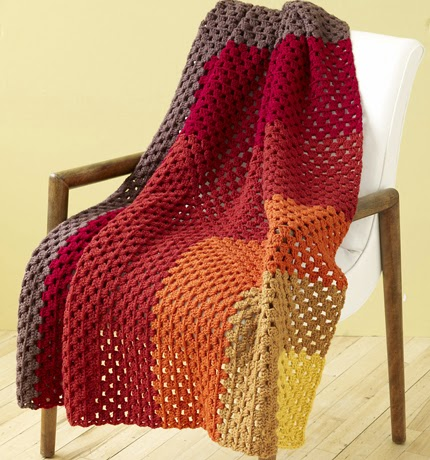 Corner Granny Afghan - Free Pattern