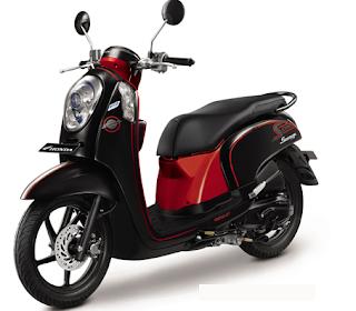 Motor Honda Terbaru  Scoopy PGM-FI