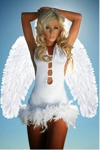 feathered angel costumes featherstore. Black Bedroom Furniture Sets. Home Design Ideas