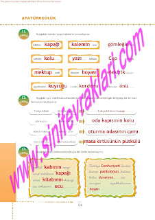 6.Sinif  Turkce Doku Yayinlari Ogrenci Calisma Kitabi Sayfa 54