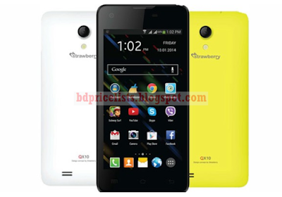 Strawberry Introduces QX10 Mobile Full Specification And Price In Bangladesh