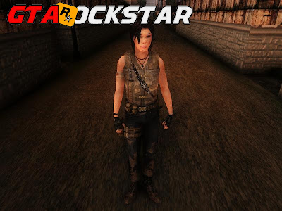 GTA SA &#8211; Skin da Lara Croft Tomb Raider 2013