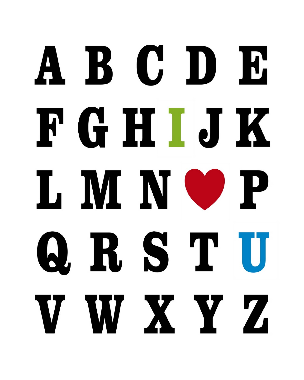 S Alphabet In Heart Home is Where m...