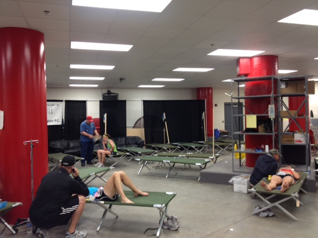 Lincoln Marathon Medical Room