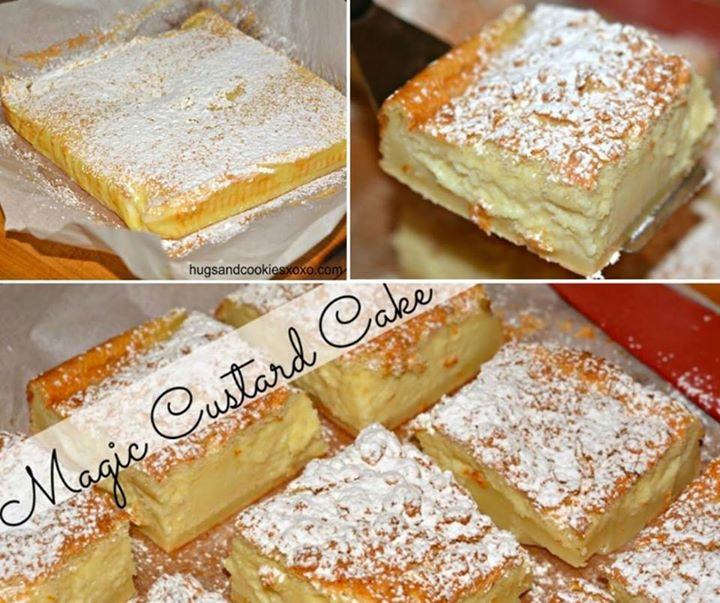 Magic Cake Recipe Uk