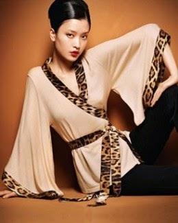 Kimono top by Roberto Cavalli