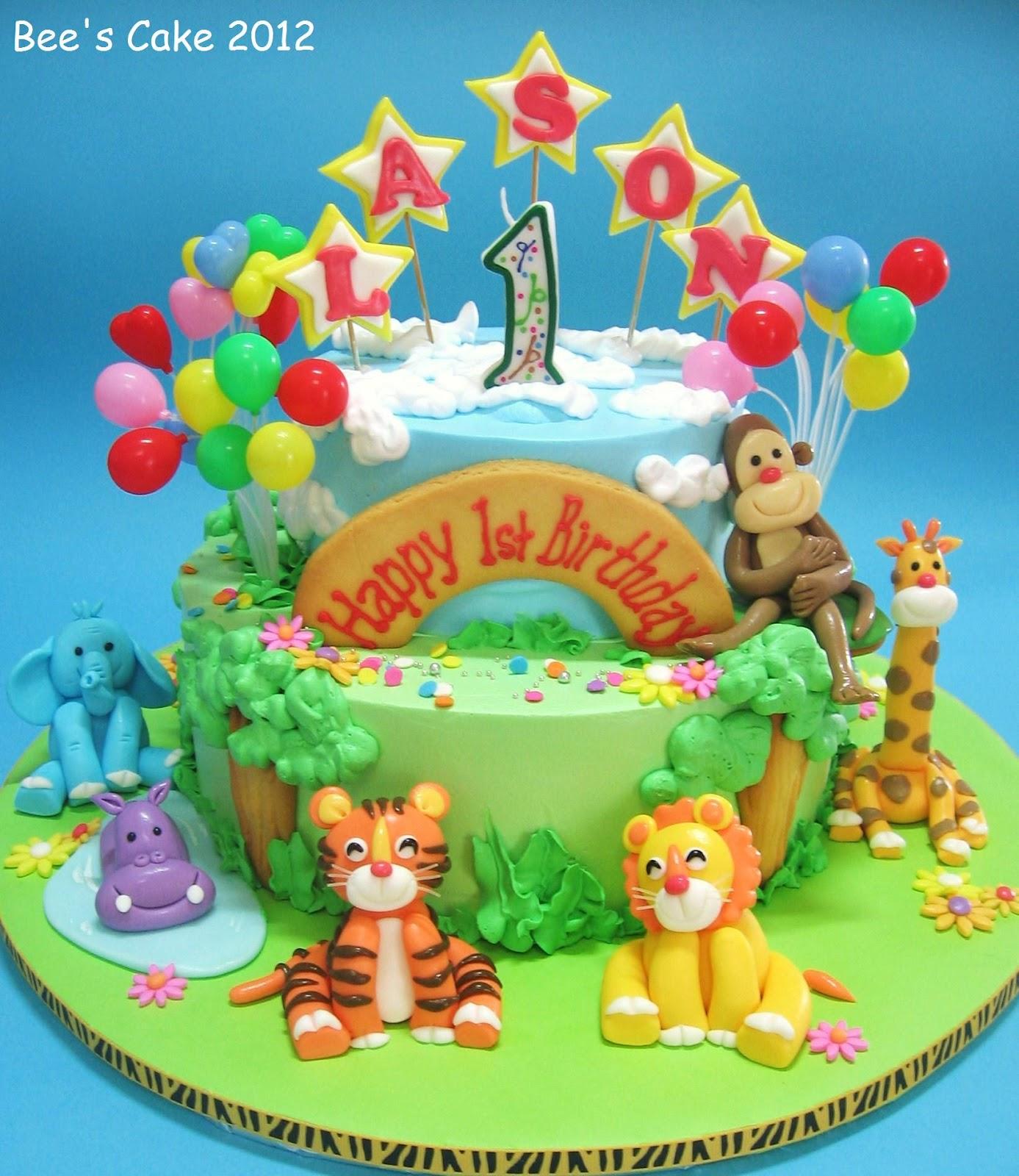 Bees Cake Lasons Zoo