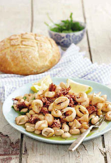 Calamari and Bean Salad