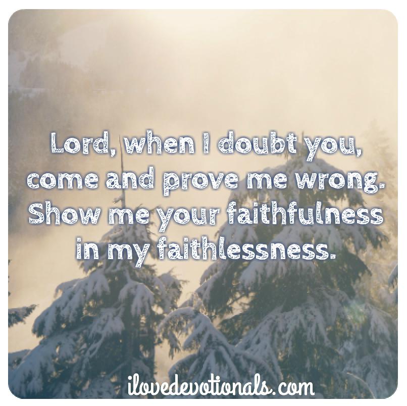 A prayer for when you're going through hard times