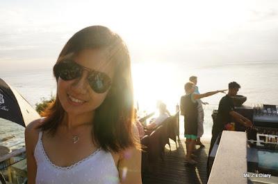 Ayana Rock Bar Sunset