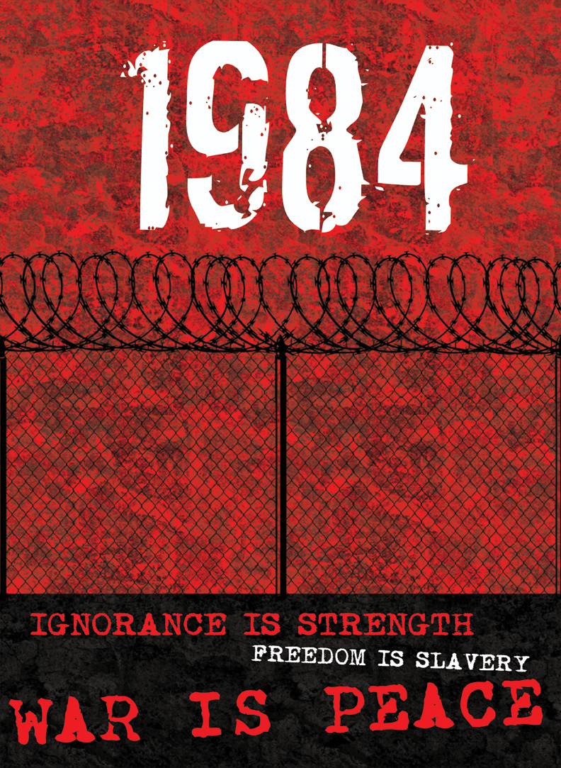 the propaganda in the society in the book 1984 by george orwell Marxism: 1984 by george orwell essay the main aim of marxism is to bring about a classless society 1984 in the book, 1984, written by george orwell.