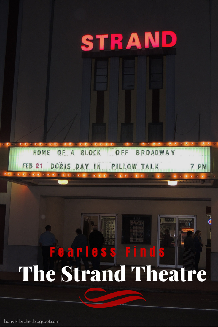 Bon veiller, cher: Fearless Finds - The Strand Theatre in Jennings, Louisiana, will be showing old movies in 2015! | bonveillercher.blogspot.com