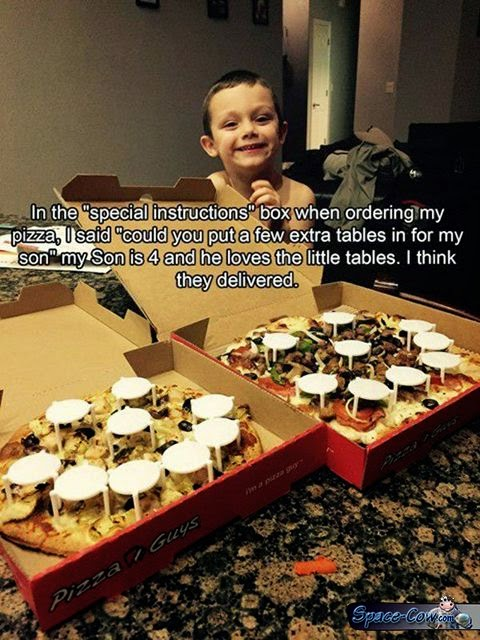 funny cute pizza picture