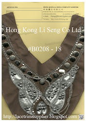Beaded and Sequins Applique Manufacturer - Hong Kong Li Seng Co Ltd