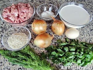 Perisoare in sos de smantana ingrediente reteta