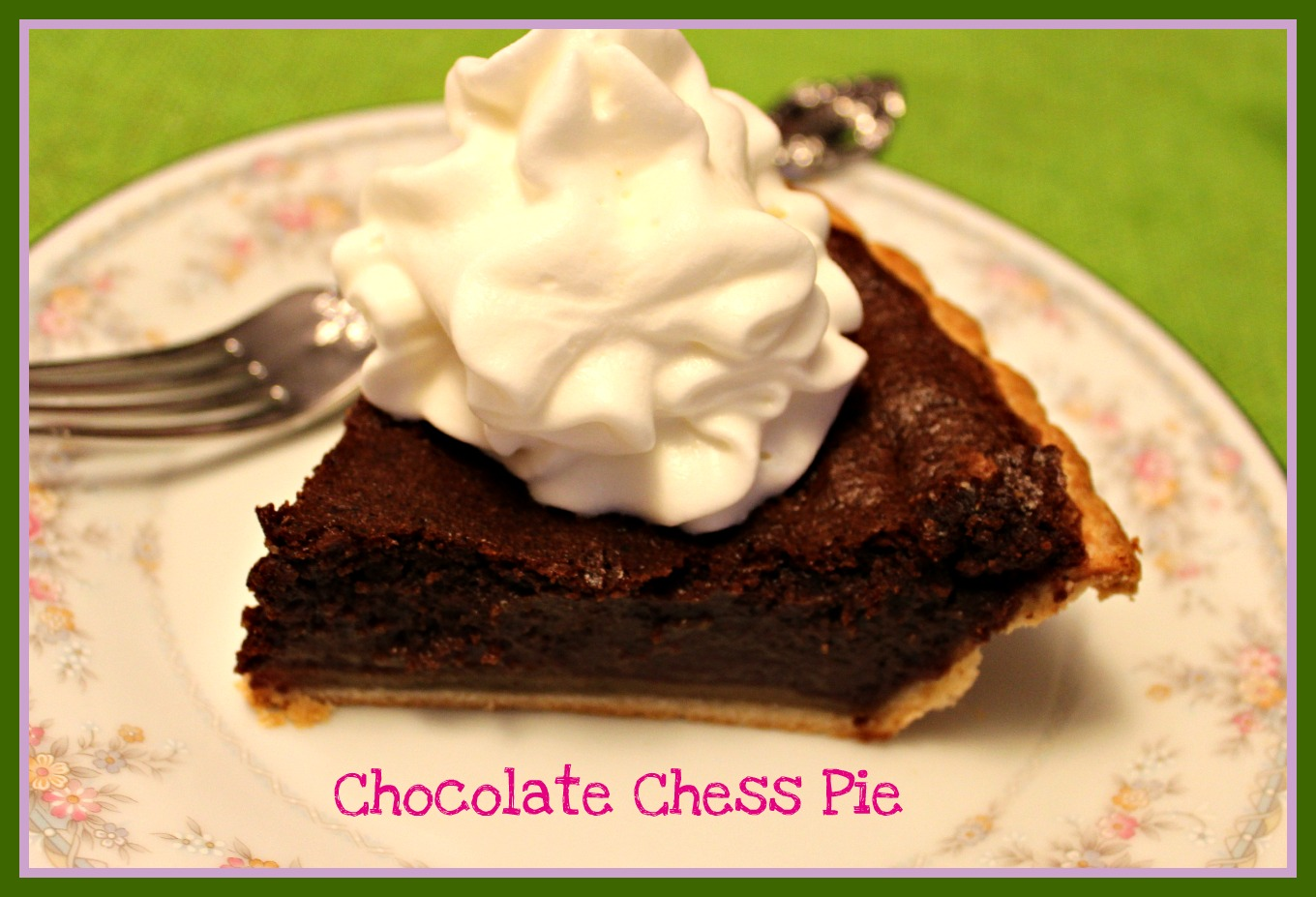 Sweet Tea and Cornbread: Chocolate Chess Pie!