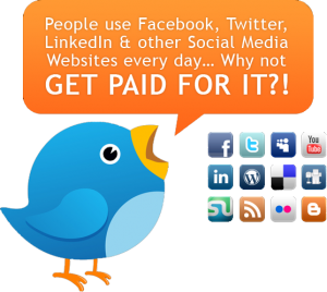 Learn how to get paid for using social media