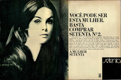 moda anos 70. propaganda anos 70; história da década de 70.  reclames anos 70; brazil in the 70s; Oswaldo Hernandez