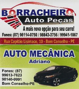 Borracheiro Autopeças e Auto Mecânica Adriano