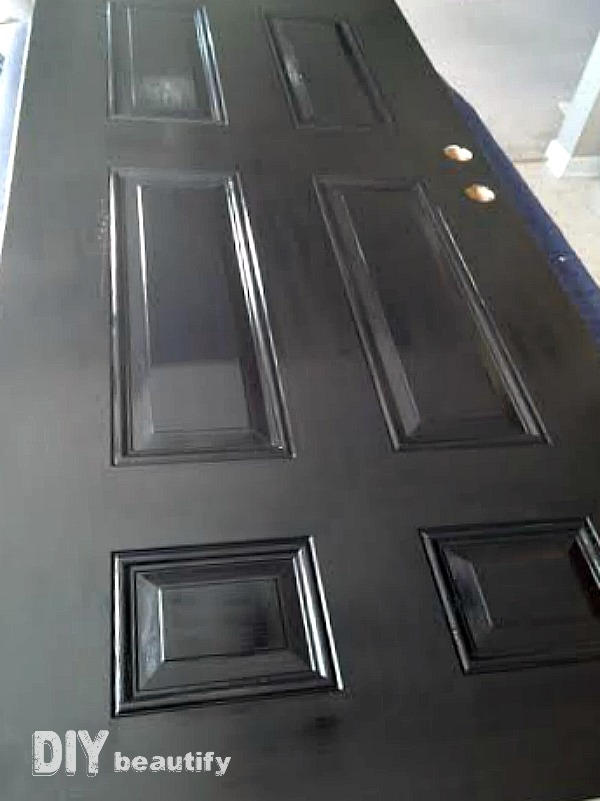 I found the perfect paint for my front door that never fades  I mFront Door Makeover with New Paint   DIY beautify. Painting New Steel Entry Doors. Home Design Ideas