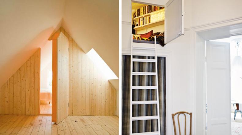 Habitaciones secretas que desearías tener en tu propia casa