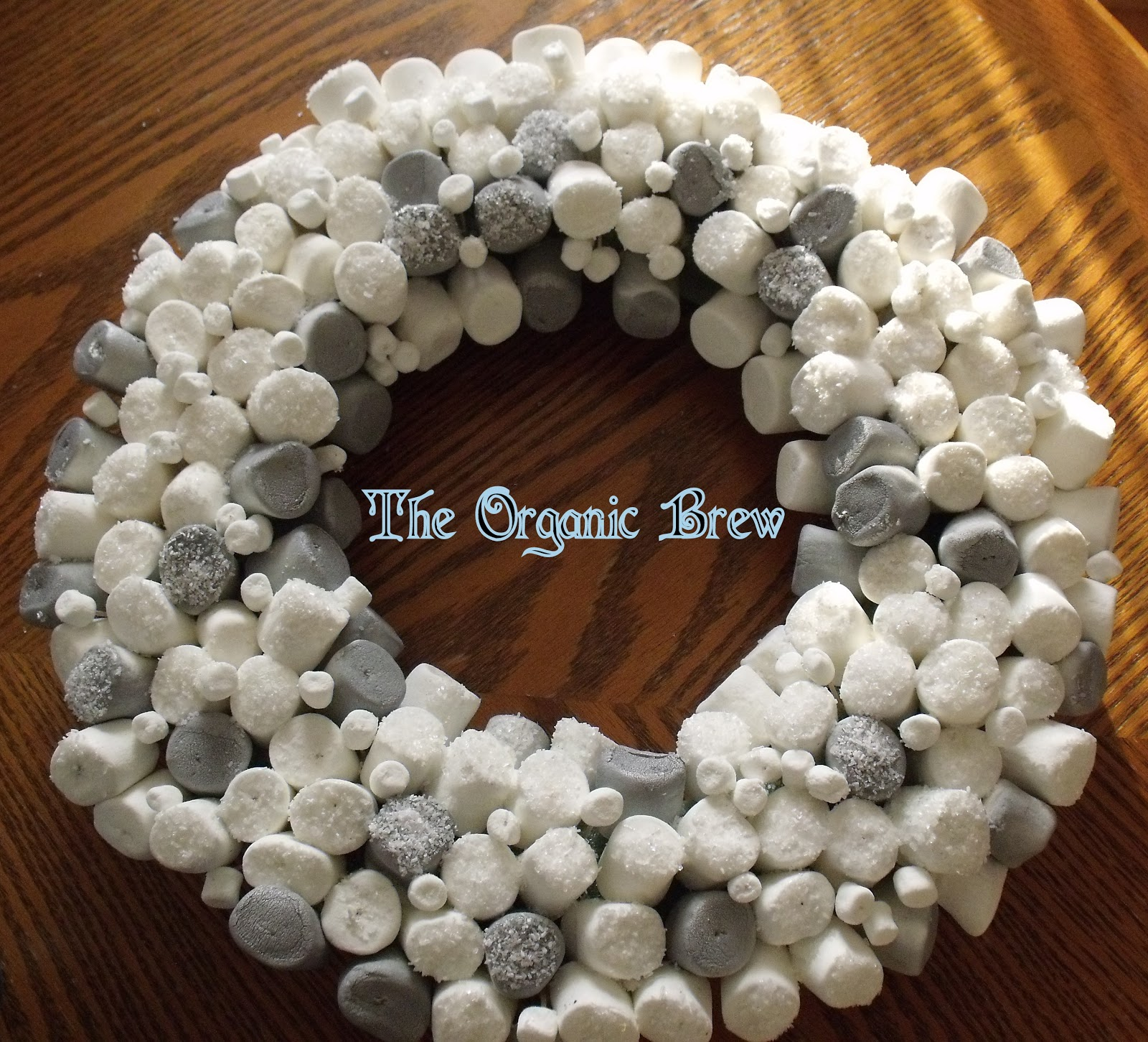 The Organic Brew Diy Marshmallow Wreath
