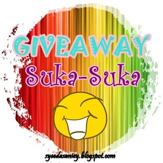 Giveaway Suka-Suka